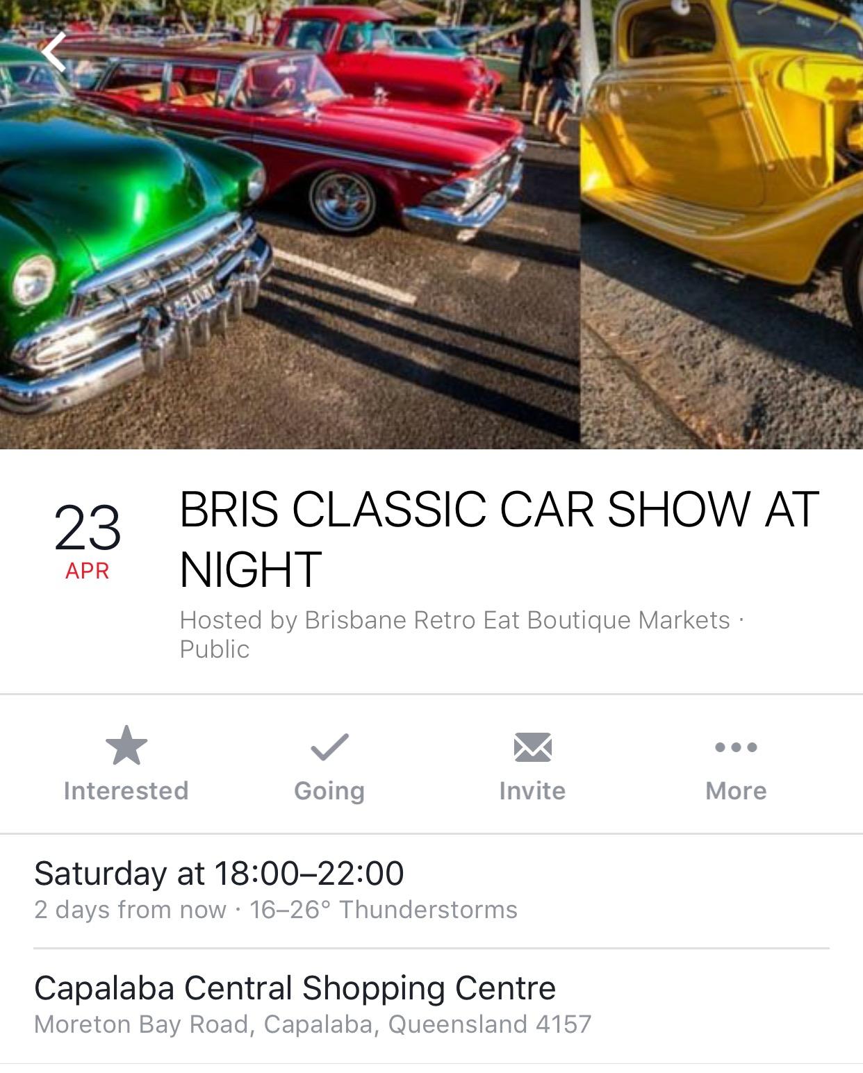 Brisbane Classic Car Show - Capalaba