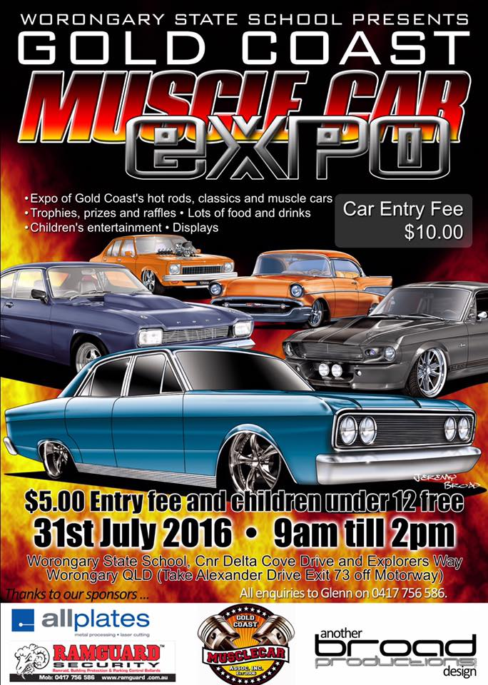Gold Coast Muscle Car Expo